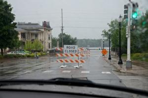 More rain isn't really welcome.